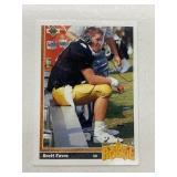 1991 The Upper Deck Brett Favre #13 Rookie RC