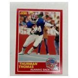1989 Score Thurman Thomas #34-QB Rookie RC