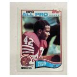 1982 Topps Ronnie Lott #486 Rookie RC