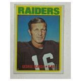 1972 Topps George Blanda #235