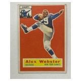 1958 Topps Alexander Webster #5