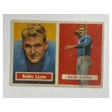1957 Topps Bobby Layne #32