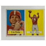 1957 Topps Y.A. Tittle #30