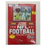 1990 Score NFL Football Series 1 Player Cards