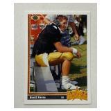 1991 Upper Deck Brett Favre Star Rookie #13
