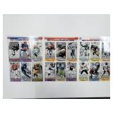 1993 GameDay MC Donalds Collector Uncut Cards