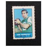 1969 Topps Mini Joe Namath Card