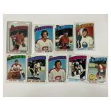 1976-77 Topps Hockey Cards W/ Bobby Orr