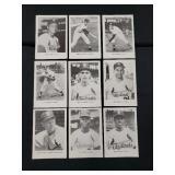 Vintage St. Louis Cardinals Baseball Photo Cards