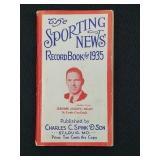 1935 Sporting News Record Book Dizzy Dean Cover