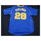 Cecil Fielder Baseball Jersey Nike Fit Dry