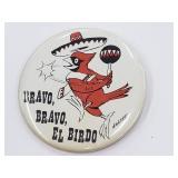 Vintage Bravo, El Birdo St. Louis Cardinals Pin