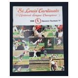 1969 Saint Louis Cardinals Yearbook