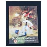 1972 Saint Louis Cardinals Yearbook