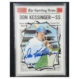 Don Kessinger Signed Sporting News Topps #456