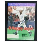 Joe Carter Signed Sports Illustrated Magazine