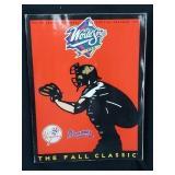 1999 Braves Yankees World Series Program