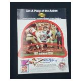1971 St. Louis Cardinals Score Card Seaver/Gibson
