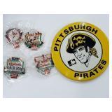 St. Louis Cardinals Pittsburgh Pirates Pins