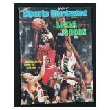1984 Michael Jordon Sports Illustrated Magazine