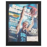 Shane Battier Signed Sports Illustrated Magazine