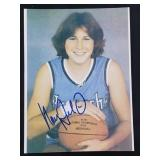 Nancy Lieberman Signed Photograph