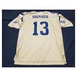 Kurt Warner Gold St. Louis Rams Jersey