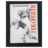 1955 Washington Redskins Media Guide