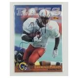 Lawrence Phillips Signed Classic Football Card