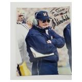 Bo Schembechler Signed Photograph