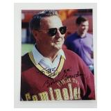 Bobby Bowden Signed Photograph