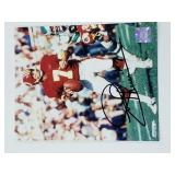 Joe Theismann Signed Photograph With Certificate