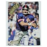 1994 Phil Simms Signed Action Packed Card QB