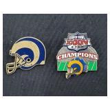 1999-2000 St. Louis Rams Football Pins