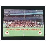 1983 St. Louis Cardinals Football Photograph