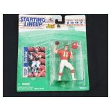 1997 Elvis Grbac Starting Lineup Action Figure