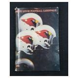1983 St. Louis Football Cardinals Yearbook