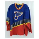 Vintage Red, Yellow, Blue St. Louis Blues Jersey