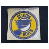 """Vintage 5"""" St. Louis Blues Decal"""