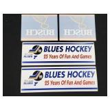 Vintage St. Louis Blues Busch 25 Stickers Decals
