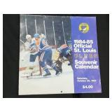 1984-85 Official St. Louis Blues Souvenir