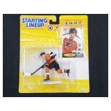 1997 Eric Lindros Starting Lineup Action Figure