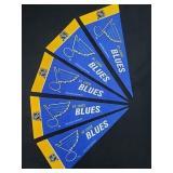 "(5) 9"" St. Louis Blues Pennants"
