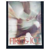 Vintage Fire & Ice Hockey Booklet