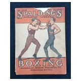 1919 Spaldings Athletic Library Boxing Magazine