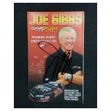 Joe Gibbs Signed Gameplan For Life Booklet