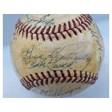 1948 St Louis Browns Team Signed Baseball