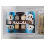 Mantle/Musial/Mays/Snider Game Used Card /15 9.5