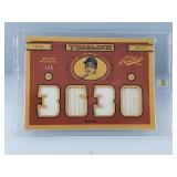 Stan Musial Game Used Bat & Jersey Card 1/5 Made
