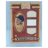 Stan Musial Game Used Bat & Jersey Card 7/10 Made